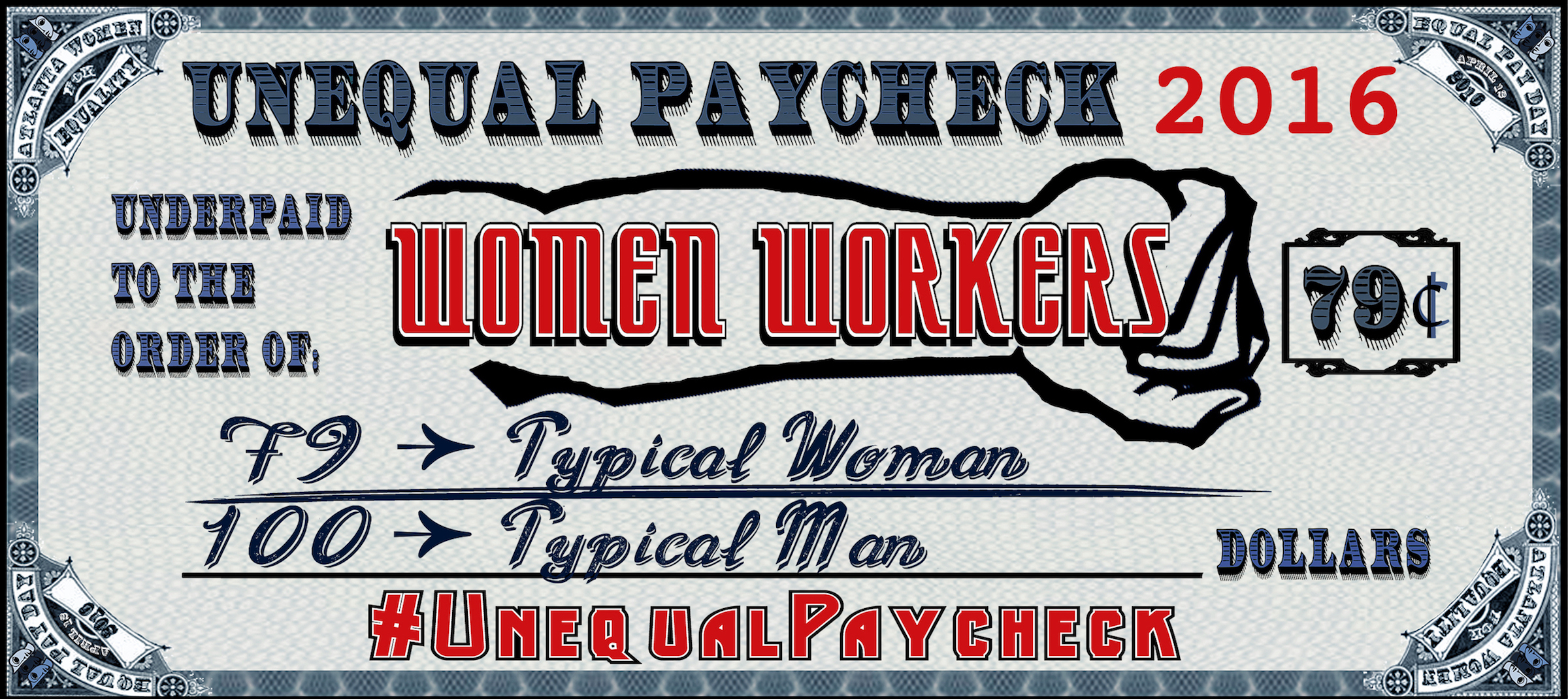 equal women equal pay Over the course of a 40-year career, white women in mississippi stand to lose  $415560 to the wage gap for black and latino women, the loss.