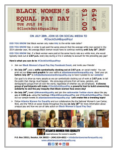 Black Women's EPD Flyer